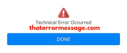 Technicalerror Occurred Hdfc Bank