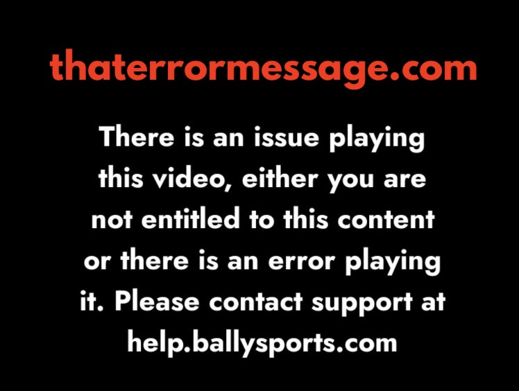 There Is An Issue Playing This Video Bally Sports