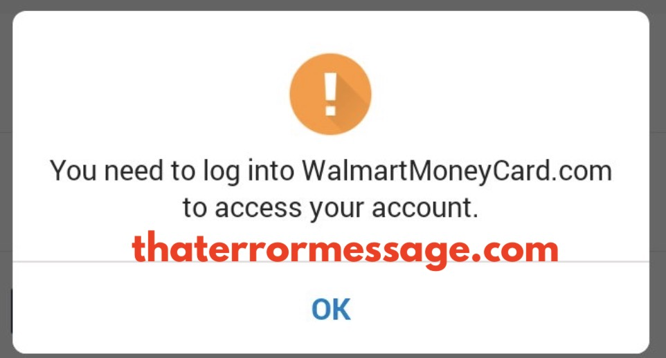 You Need To Log Into Walmartmoneycard To Access Your Account